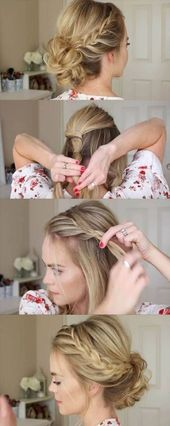 New hair tutorial updo easy step by step wedding hairstyles 31 ideas  #easy #Hai…