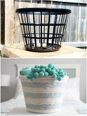 Creative #Ideas # # # # # Basket #Basket # # Basket und Box   – Wohnaccessoires