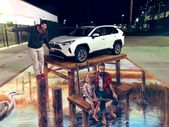 Interactive 3D Floor Murals – Toyota Event in Florida   – Photo Op Backdrop Walls & Ideas for Events