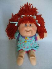 Cabbage Patch Kids Doll Snacktime Kid Red Hair Blue Eyes Eats Toy Food 1995 Cabbage Patch Kids Dolls Cabbage Patch Kids Patch Kids
