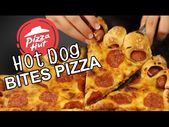 DIY Hot Dog Crust Pizza – YouTube