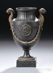 Basalt urn