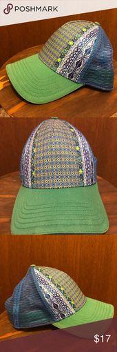 Prana La Viva Trucker Hat Womens Prana La Viva Trucker Hat, blue & green Prana A… – Hutmodelle