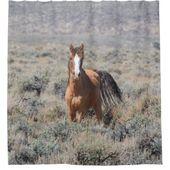 Wildlife Duschvorhang, Wildpferde, Nevada Duschvorhang | Zazzle   – Bathroom Accessories