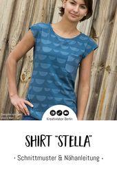 "Neues Schnittmuster: Shirt ""Stella"""