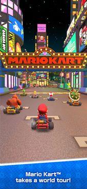 Mario Kart Tour On The App Store Mario Kart Characters Mario Kart Super Mario Kart