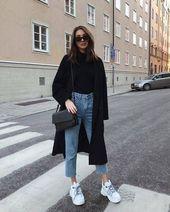 Folgen Sie diesen Fashion Girls für eine Lektion im minimalistischen Stil #dies