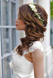 Bridal Hairstyles Half-Open Side – Women's Hairstyles #weddinghairstylesside Bridal Hairstyles Half-Open Side – #Bridal Hairstyles #Half-Open #Side