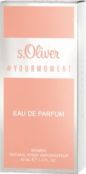 s.Oliver Eau de Parfum #your moment women, 40 ml dauerhaft günstig online kaufen | dm.de
