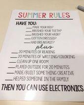 59+ Chore Chart Ideen für Kinder (& Mehrere Kinder) – DIY Chore Boards für Kinder …   – Kochen