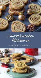 Alles Liebe Zimtschnecken Kekse – das Rezept ist die Explosion und super lecken … – *Weihnachten auf EINFACH MALENE*