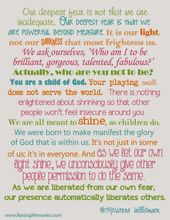 Free Printable at www.RaisingMemori…  ( Let Your Light Shine ) Our deepest fea… – Quotes