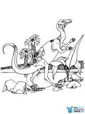 Coelophysis Coloring Page Free Printable Coloring Pages In Coelophysis Protosuchus And Saltoposuchus Coloring Pages