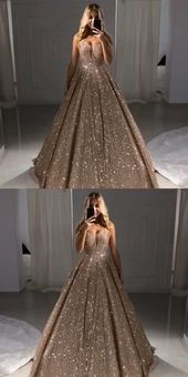 2020 Charming Modest Long Prom Gown, A-line Shinning Gorgeous Prom Dresses,PD0876 2020 Charming Modest Long Prom Gown, A-line Shinning Gorgeous Prom Dresses,PD0876