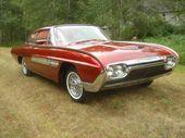 "Distinctive 1963 Ford Thunderbird ""Italien"" idea automotive goes beneath the hammer"