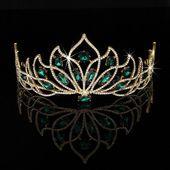 Hochzeit Prinzessin Braut Krone Kristall Strass Pageant Stirnband Schmuck Tiara …