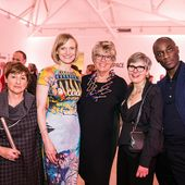Collect Awards Party host prue leith (centre) with…