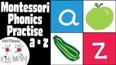 Montessori Phonics Activity   English for Kids
