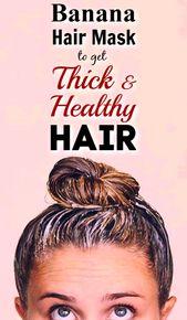 Bananenhaarmaske   – Hair Care