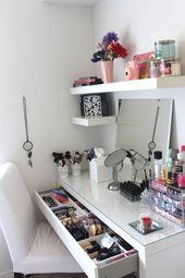 5 süße DIY Make-up Veranstalter Ideen – RennaSonge