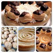 St. Honore-Torte – Diese klassische französische Nachspeise ist ein Blätterteigkreis …
