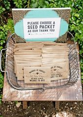 Wildflower Seed Wedding Favor Packets – Personalized – Love to bloom, Bee Design, Bee meant – Kraft Plantable Gift – 30 Packages or more – Stevie Rotella Photography