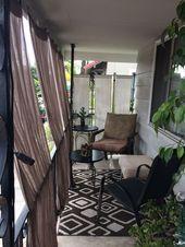 24 chicks and stylish apartment balcony ideas  Nadia Kerrens  Diy#design #design… – beauty