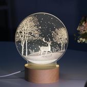 3d Led Mond Lampe Atmosphare Nachtlichter Mavigadget 3d Atmosphare Lampe Led Mavigadget Mond Nachtlichter In 2020 Snow Globes Home Decor Decor