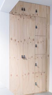 + DIY cabinet made of plywood …                                               …