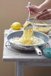 Nouilles au citron | BRIGITTE.de   – Rezepte