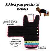 TUTO COAT PERRO ABRIGO TODOS LOS TAMAÑOS #dogcrochetedsweaters TUTO MAN …   – Goat