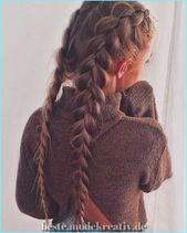 Einzigartige und Kreative 40 Einfache und einfache, seitlich geflochtene Frisuren, die mühelo… – Frisuren