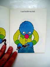 Vintage Grover I Can Dress Myself From Gravity And The Everyday Vintage Retro Little Golden Books
