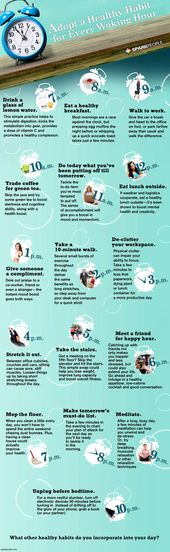Adopt a Healthy Habit for Every Waking Hour