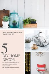 10 Stunning DIY Home Decor Ideas | Home Decor Ideas