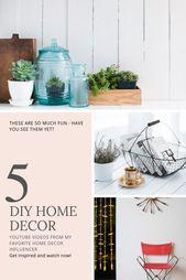 10 Stunning DIY Home Decor Ideas | Home Decor Ideas