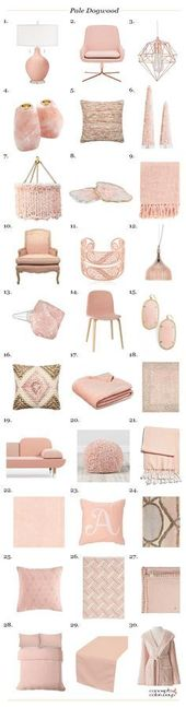 pantone pale dogwood interior design product roundup amzn.to/2luqmxj