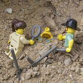 Fand einen archäologischen Schatz – LEGO DIY – # archäologische #DIY #one …   – lego