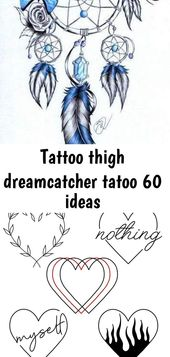 Tattoo Oberschenkel Dreamcatcher Tattoo 60 Ideen