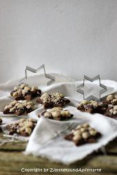 Streuselsternchen – Schokoladenkekse mit Streuseln und Marmelade