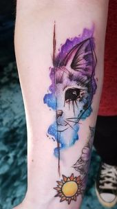 40 Cute Watercolor Tattoo Designs and Ideas For Temporary Use   – life style