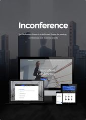 In Conference – Meetup & Conference Business Event WordPress Theme #amp, #Meetup, #Conference, #Business