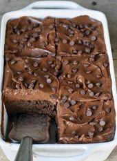 Estos saludables brownies de garbanzos con crema de camote son increíbles …   – vegan