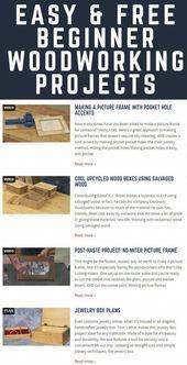 Holzbearbeitungsprojekte für Anfänger – #Anfänger #Projekte #Holzbearbeitung