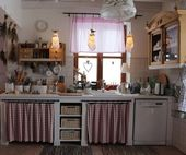 40+ Stunning Country Cottage Kitchen Decorating Ideas