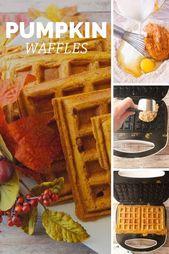 Pumpkin Waffles Recipes