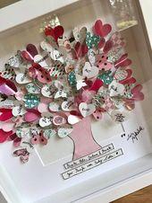 Lebensbaum mit persönlichen Wünschen LOVETREE