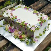 25+ besten Ideen für Blechkuchen dekoriert auf Pinterest | Kuchenentwürfe …   – Blechkuchen