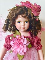 Quinceanera Porcelain Doll-Limited Edition Collectible Porcelain Dolls New