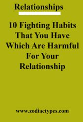 10 Fighting Habits That You Have Which Are Harmful For Your Relationship – ZodiacTypes#relationship #relationshipgoals #relationshipqoutes #quotes #co…